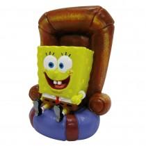 Enfeite resina penn plax spongebob in chair sbr20