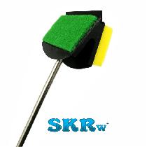 Limpador esponja skrw cabo de metal le-56