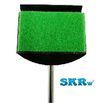 Limpador esponja skrw cabo de metal le-68
