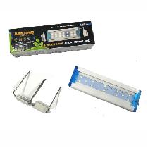 Luminaria kintons led azul/br 300l 22 a 35cm bivolt