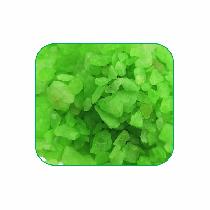 Pedra color verde fluorescente 10kg
