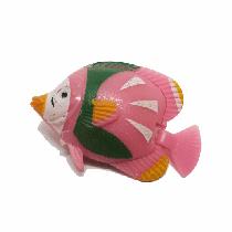 Peixe flutuante f-11 com 1 unidade (rosa/verde)