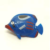 Peixe flutuante f-15 com 1 unidade (azul/verde)