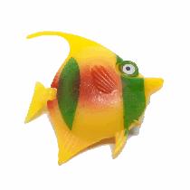 Peixe flutuante f-24 com 1 unidade (amarelo/verde)