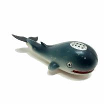Peixe flutuante f-50c com 1 unidade (baleia/cinza)