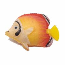 Peixe flutuante f-8 com 1 unidade (amarelo/vermelho)