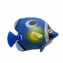 Peixe flutuante f-9 com 1 unidade (azul/verde)