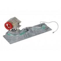 Enfeite plástico litwin riacho com casa oxigenador