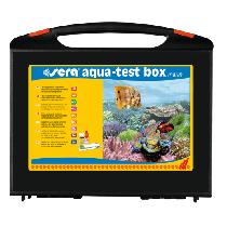 Teste sera aqua test box marinho (maleta c/9 teste)