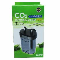 Up conta bolhas mini co2 bubble counter d-518