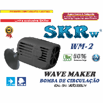 Wave maker skrw wm-2 2.000l/h 6w 127v
